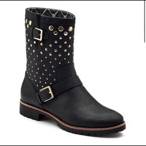 Sperry Top Sider Britt Round Toe Leather Boot